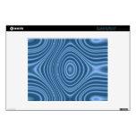 blue unique pattern skin for laptop