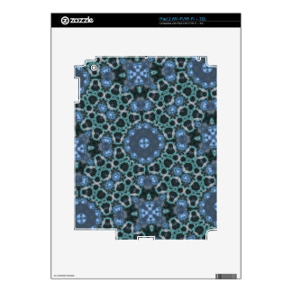 Blue Unique pattern Skins For The iPad 2