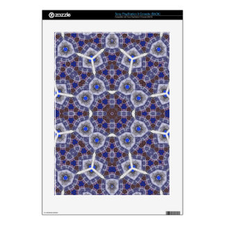 Blue unique stylish Pattern PS3 Decal