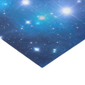 "Blue Universe Stars + your ideas 17"" X 23"" Tissue Paper"