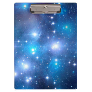 Blue Universe Stars + your ideas Clipboards