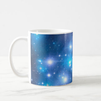 Blue Universe Stars + your ideas Coffee Mug