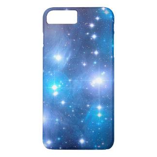 Blue Universe Stars + your ideas iPhone 7 Plus Case