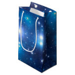 Blue Universe Stars + your ideas Small Gift Bag