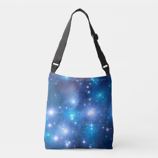 Blue Universe Stars + your ideas Tote Bag