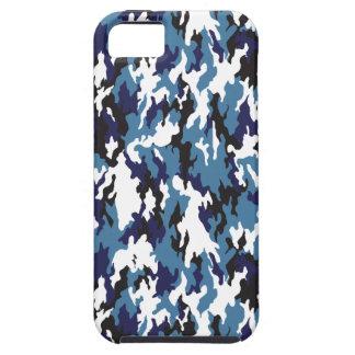 Blue Urban Camo iPhone SE/5/5s Case