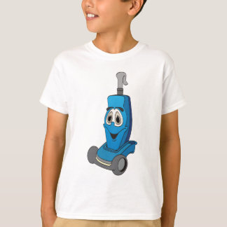 Blue Vacuum Cleaner T-Shirt