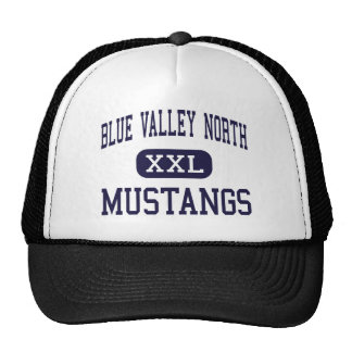 Blue Valley North - Mustangs - Overland Park Hats