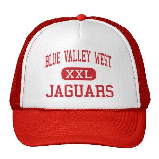Blue Valley West - Jaguars - High - Overland Park Trucker Hat