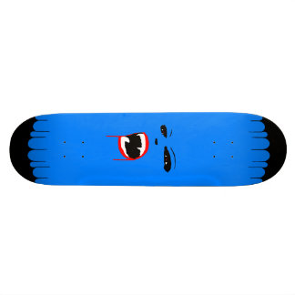 Blue Vamp Custom Skateboard