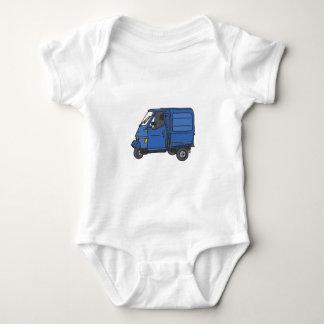 Blue Van (foodtruck) Baby Bodysuit