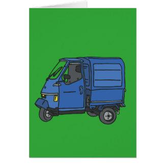 Blue Van (foodtruck) Card