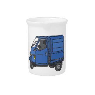 Blue Van (foodtruck) Drink Pitcher