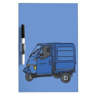 Blue Van (foodtruck) Dry-Erase Board