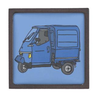 Blue Van (foodtruck) Gift Box