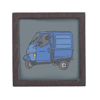 Blue Van (foodtruck) Jewelry Box