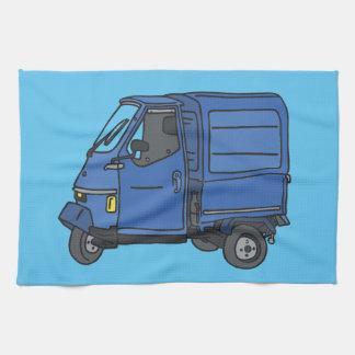 Blue Van (foodtruck) Kitchen Towel
