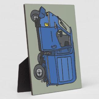 Blue Van (foodtruck) Plaque