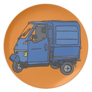 Blue Van (foodtruck) Plate