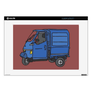Blue Van (foodtruck) Skin For Laptop