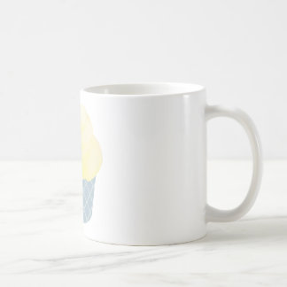 Blue Vanilla Cupcake Coffee Mug