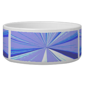 Blue Vanishing Point Bowl