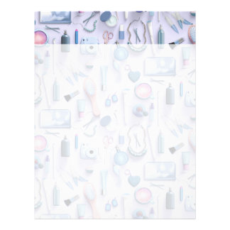 Blue Vanity Table Letterhead