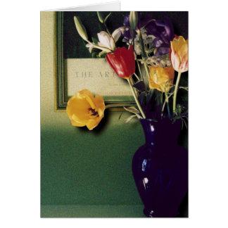 Blue Vase Stationery Note Card