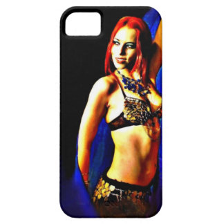 Blue Veil iPhone 5 Cover
