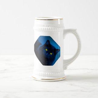 Blue Velvet Beer Stein