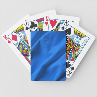 Blue velvet design bicycle playing cards
