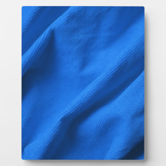 Blue velvet design plaque