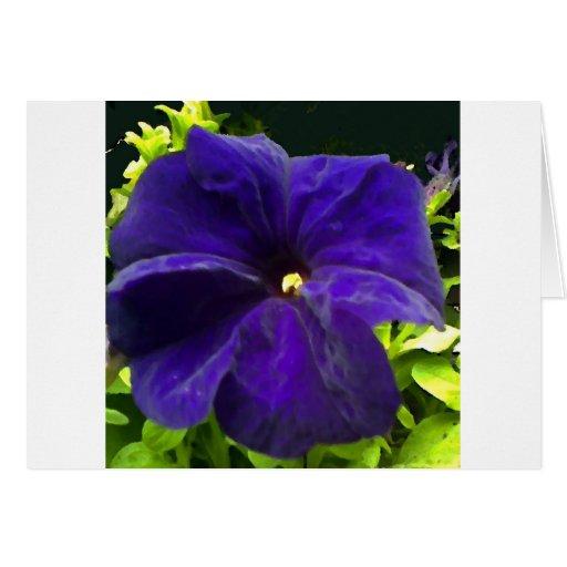 Blue Velvet Greeting Card