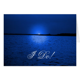 Blue Velvet - invitation card