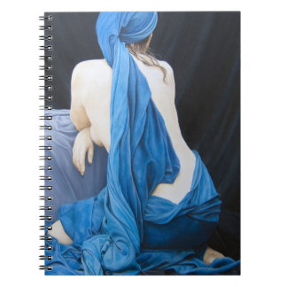 Blue Velvet Portrait By David Wells Notebook