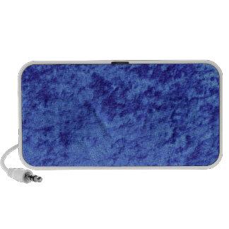 Blue Velvet Soft Material Mp3 Speakers