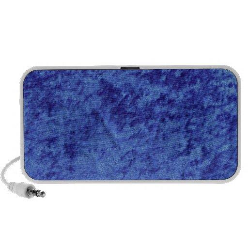 Blue Velvet Soft Material Travelling Speaker