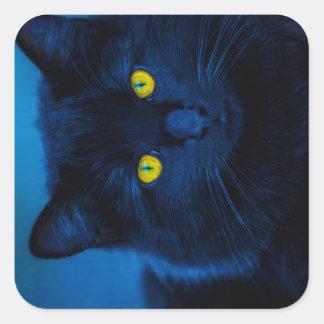 Blue Velvet Square Sticker