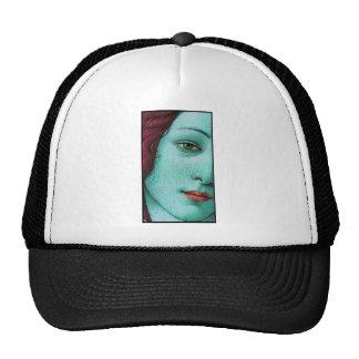 blue venus mesh hats