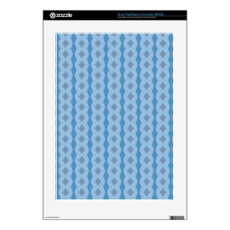 Blue vertical pattern skin for the PS3 console