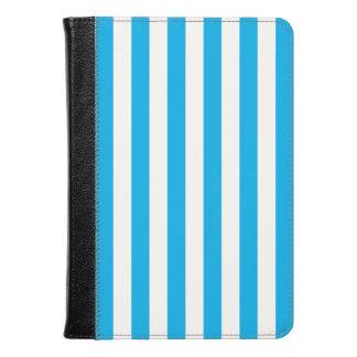Blue Vertical Stripes Kindle Case