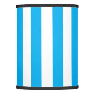 Blue Vertical Stripes Lamp Shade
