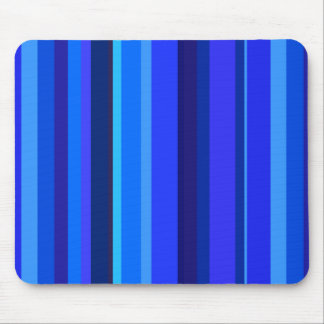 Blue vertical stripes mouse pad