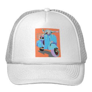 Blue Vespa Trucker Hat
