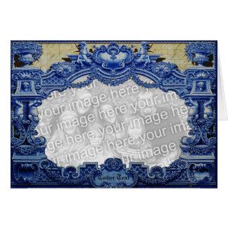 Blue Victorian Card