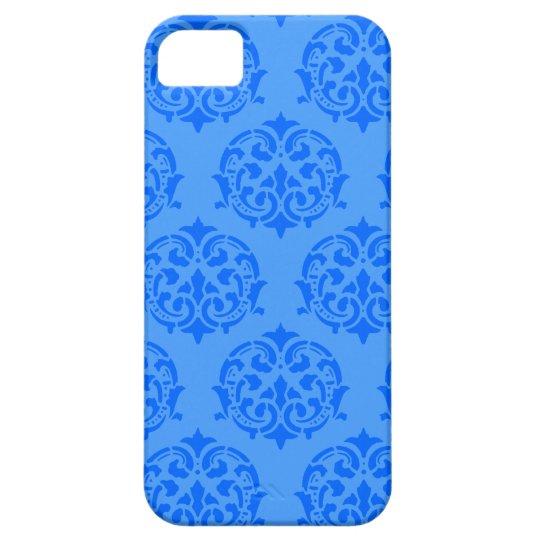 Blue Victorian Design iPhone 5 cases