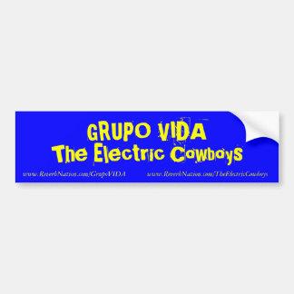 Blue VIDA Bumper Sticker