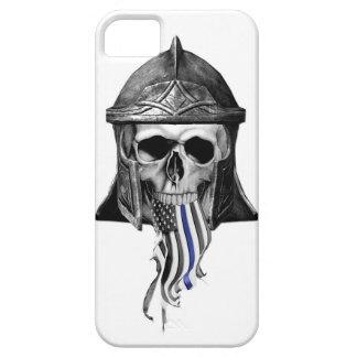 Blue Viking Warrior iPhone SE/5/5s Case