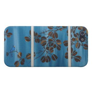 Blue Vine Tryptic iPhone SE/5/5s Case