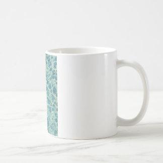 Blue Vintage Marble Paper Coffee Mug